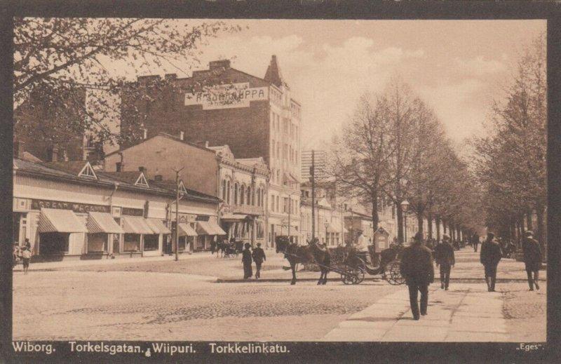 Wiborg. Torkelsgatan. Wiipuri. Torkkrlinkatu , Finland , 1900-10s