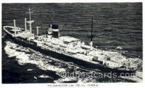 Donaldson line LTD SS Lismoria Steamer Ship Unused very light wear close to g...