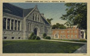 Lithgow Library & Y.M.C.A Augusta ME Unused