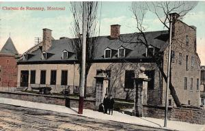 Chateau de Ramezay, Montreal, Quebec, Canada, Early Postcard, used in 1910