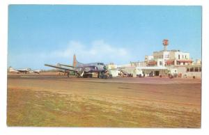 Berry Field Nashville Municipal Airport Vintage Aviation Postcard Aircraft