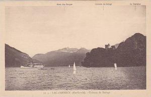 LAC d'ANNECY , France , 00-10s ; Chateau de Duingt