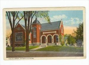 Public Library, Waterville , Maine , 00-10s