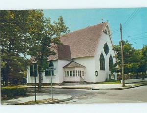 Unused Pre-1980 CHURCH SCENE Cape May New Jersey NJ A5831