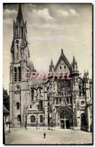 Modern Postcard Senlis La Cathedrale