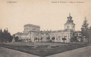 WARSZAWA , Poland , 1910s ; Schloss in Wilanow