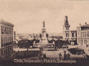 TC: Serie De La America Latina, Plaza Sotomayor, Valparaiso, Chile, 1900-1910...