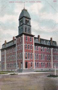 Iowa Fort Dodge Tobin College 1919