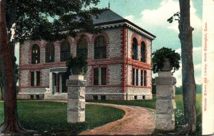 Connecticut North Stonington Wheeler School and Library 1909