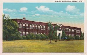 Arkansas Newport High School Curteich