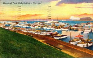 Maryland Baltimore The Maryland Yacht Club 1951