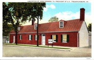 Virginia Fredericksburg Law Office Of James Monroe Curteich
