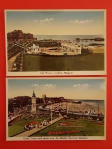 A Lovely Pair of Vintage MARGATE Postcards KENT