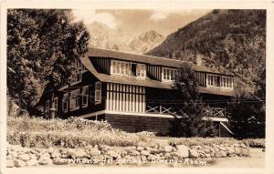 C9/ Fairmont Hot Springs British Columbia Canada Photo RPPC Postcard '38
