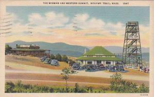 Massachusetts Mohawk Trail The Wigwam And Western Summit  1938