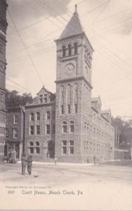 Pennsylvania Mauch Chunk Court House Rotograph