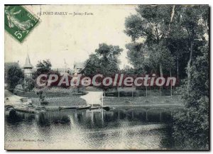 Postcard Old Port Marly Jersey Farm