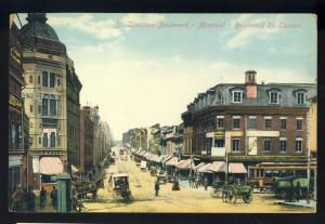 Montreal, Quebec, Canada  Postcard, St Lawrence Boulevard