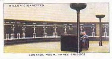 Wills Vintage Cigarette Card Railway Equipment 1938 No 48 Control Room Three ...
