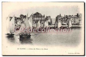 Old Postcard Le Havre L'Anse The Drivers And The Museum