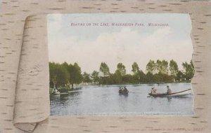 Wisconsin Milwaukee Washington Park Boating On The Lake