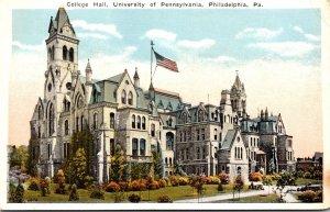 Pennsylvania Philadelphia College Hall University Of Pennsylvania