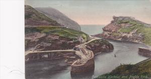 Boscastle , England , 1900-10s ; Harbour