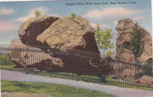 Connecticut New Haven Judges Cve West Rock Park 1940 Curteich