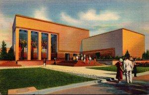 Texas Dallas The Foods Building Texas Centennial Exposition Curteich