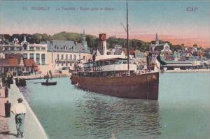 France Trouville Depart pour le Havre