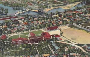 Indiana Fort Wayne Aerial View Of Concordia College Curteich