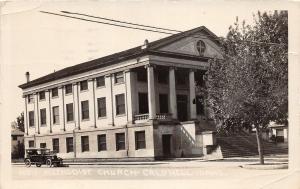 F26/ Caldwell Idaho RPPC Postcard 1935 Methodist Church