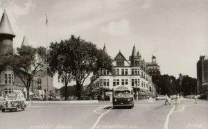 RP: EVANSTON , Illinois, 1930-40s ; Street