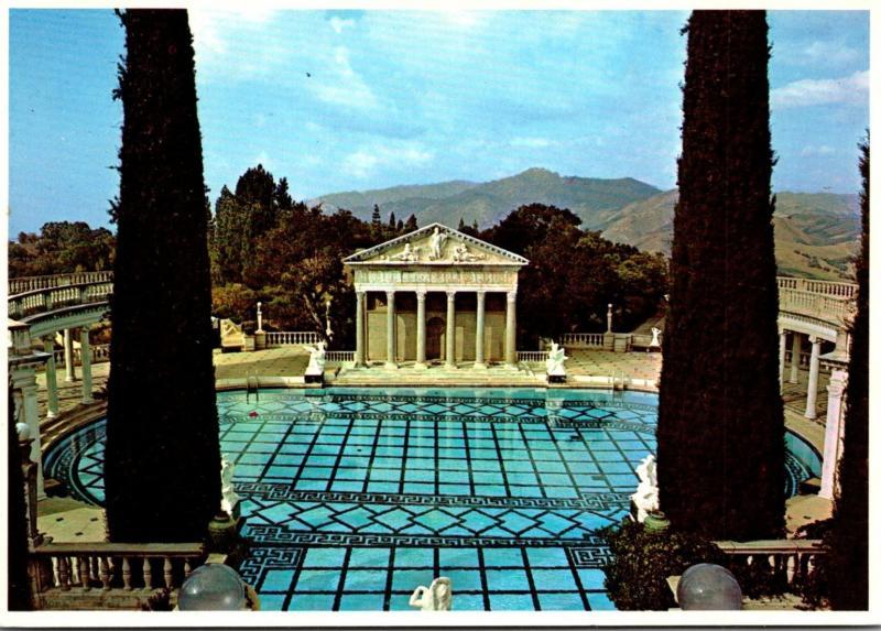 California San Simeon Hearst Castle The Neptune Pool