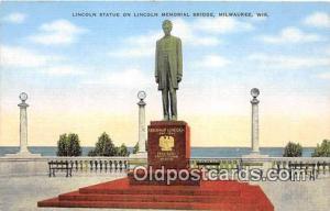 Milwaukee, Wis, USA Lincoln Statue