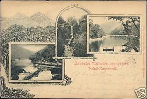 slovakia, FELSÖ-HAMORROL, Multiview (1899) Stamp