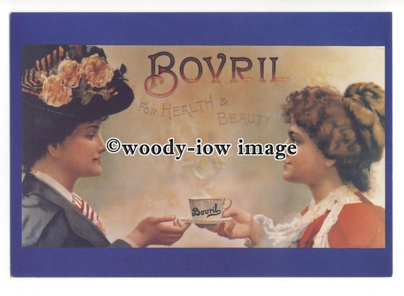 ad0511 - Bovril - For Health & Beauty -  Modern Advert Postcard