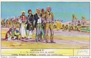 Liebig s1714 Leopold II No 2 Op verkenning door de wereld