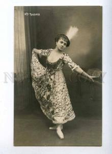 193423 Mlle TOSSINA Belle BALLET DANCER old PHOTO FORBERT