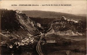 CPA PONTARLIER - Les Forts de Joux et du Larmont (299858)