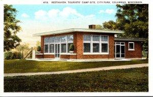 Wisconsin Columbus City Park Resthaven Tourists' Camp Site