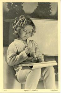 Shirley Temple Actor / Actress Postcard Post Card Old Vintage Antique Movie S...