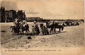 CPA MALO - Les bains .- La Station des anes  (194470)