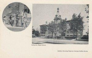2-Views, Lafayette High School , Buffalo, New York, 1901-07