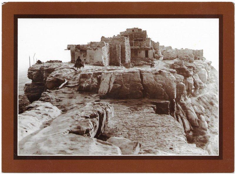 US Arizona 'Old Walpi' Hopi Village.  Mint.  *Oversize 8X6