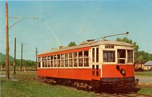 PA - Rockhill Furnace. Trolley Car from Johnstown Traction Co.