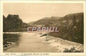 Old Postcard Epinal Dam Since the Museum