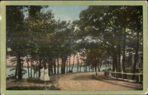Onset Cape Cod MA The Bluff Near Glen Cove Hotel c1910 Postcard
