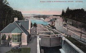 OTTAWA , Ontario , Canada , 1900-10s ; Rideau Locks