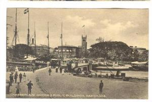 Chamberlain Bridge & Public Buildings, Barbados, 1900-1910s